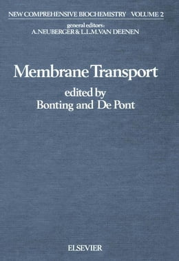Book Membrane transport by Bonting, S.L.