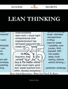 lean thinking 35 Success Secrets - 35 Most Asked Questions On lean thinking - What You Need To Know