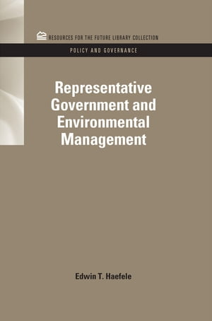 Representative Government and Environmental Management