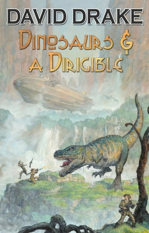 Dinosaurs & A Dirigible by David Drake