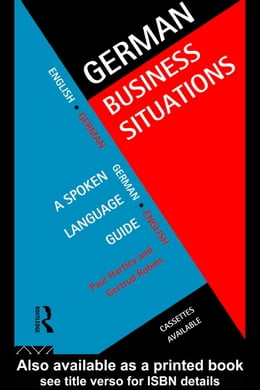 Book German Business Situations by Hartley, Paul