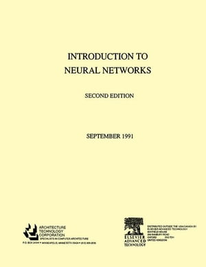 Introduction to Neural Networks: 2nd Edition