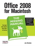 Office 2008 for Macintosh: The Missing Manual Deal