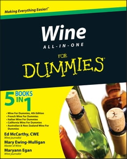 Book Wine All-in-One For Dummies by Mary Ewing-Mulligan
