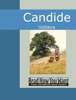 Book Candide by Voltaire,