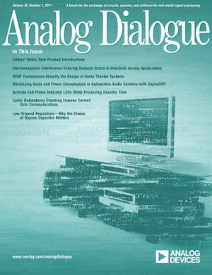 Analog Dialogue, Volume 45, Number 1 by Analog Dialogue