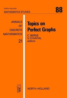 Book Topics on Perfect Graphs by Chvátal, V.