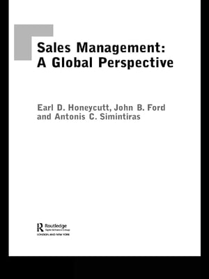 Sales Management A Global Perspective