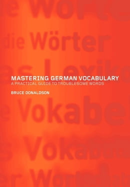 Book Mastering German Vocabulary by Donaldson, Bruce