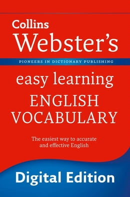 Book Webster's Easy Learning English Vocabulary (Collins Webster's Easy Learning) by Collins