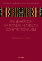 Separation of Powers in African Constitutionalism