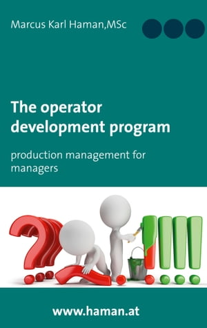 The Operator Development Program: Production Management for Managers by Marcus Karl Haman