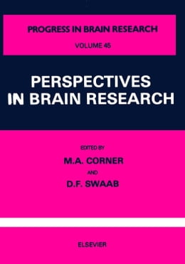 Book Perspectives in Brain Research by Corner, M.A.