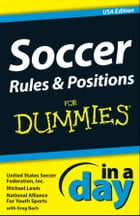 Soccer Rules and Positions In A Day For Dummies by Michael Lewis