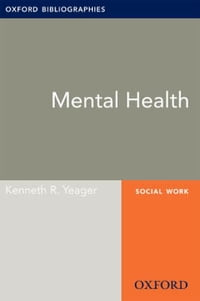 Mental Health: Oxford Bibliographies Online Research Guide