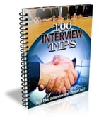 100 Interview Tips by Anonymous