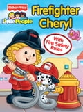 Fisher Price Little People Firefighter Cheryl 4266ef22-4950-490d-bb3a-c9e56fd7f5fb