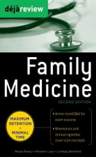 Deja Review Family Medicine, 2nd Edition by Mayra Perez