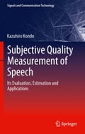 Subjective Quality Measurement of Speech (Electronics Technology) photo