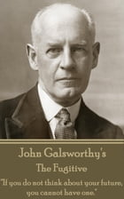 """The Fugitive: """"If you do not think about your future, you cannot have one."""" by John Galsworthy"""