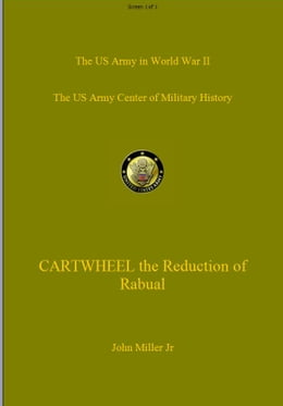Book CARTWHEEL - The Reduction of Rabaul by John Miller