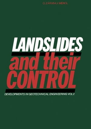 Landslides And Their Control: Czechoslovak Academy of Sciences