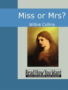 Miss Or Mrs? by Collins,Wilkie