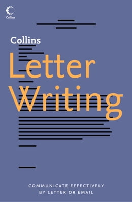 Book Collins Letter Writing by Collins