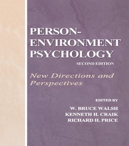 Book Person-Environment Psychology: New Directions and Perspectives by W. Bruce Walsh