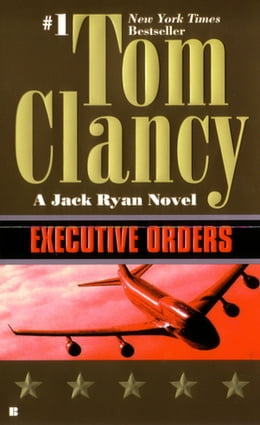 Book Executive Orders by Tom Clancy