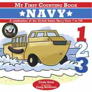 My First Counting Book: Navy by Cindy Entin