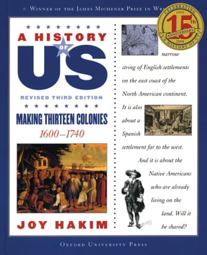 A History of US: Making Thirteen Colonies 1600-1740