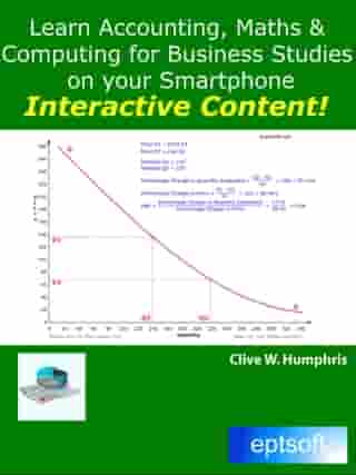 Learn Accounting, Maths and Computing for Business Studies on your Smartphone by Clive W. Humphris