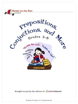 Book Prepositions, Conjunctions, and More, Grades 3-6 by TeacherVision.com,