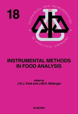 Book Instrumental Methods in Food Analysis by Paré, J.R.J.