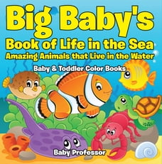 Big Baby's Book of Life in the Sea: Amazing Animals that Live in the Water - Baby & Toddler Color…
