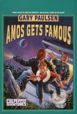 Book AMOS GETS FAMOUS by Gary Paulsen