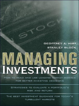 Book Managing Investments by Hirt, Geoffrey