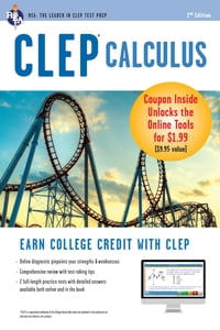 CLEP® Calculus Book + Online