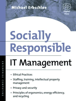 Book Socially Responsible IT Management by Erbschloe, Michael