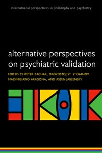 Alternative perspectives on psychiatric classification