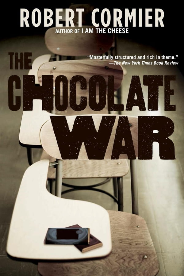 the main events in the plot of the chocolate war by robert cormier The chocolate war by robert cormier random house 1974 (over the years, many reprints and imprints) library copy the plot: trinity is a school ruled by.