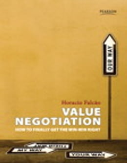Book Value Negotiation: How to Finally Get the Win-Win Right by Horacio Falcao