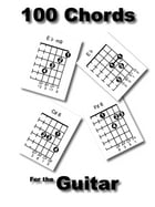 100 Chords for the Guitar by frank lynch
