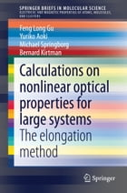 Calculations on nonlinear optical properties for large systems