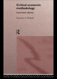 Critical Economic Methodology: A Personal Odyssey