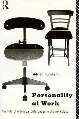 Book Personality at Work by Furnham, Adrian, Professor