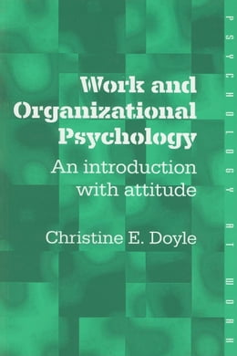 Book Work and Organizational Psychology by Doyle, Christine