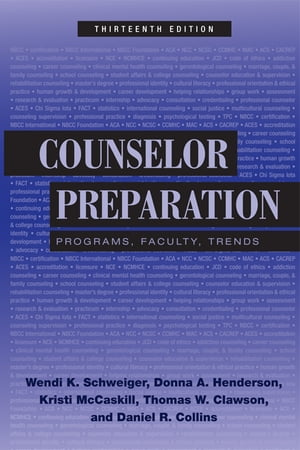 Counselor Preparation Programs,  Faculty,  Trends