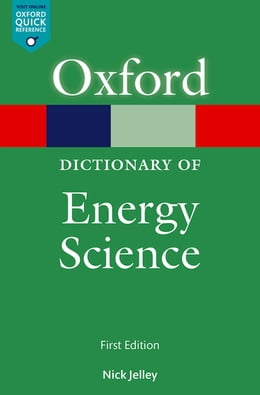 Book A Dictionary of Energy Science by Nick Jelley